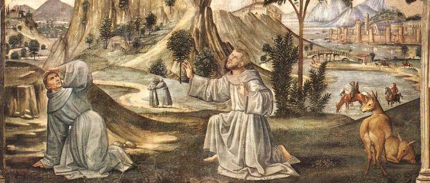 Ghirlandaio Domenico / Stistygmaty św. Franciszka