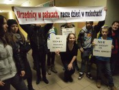Spotkanie poświęcone sprawie przyszłości gimnazjum przy Pautscha (fot. BOM)