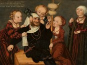 Lucas Cranach, Herkules i Omphale