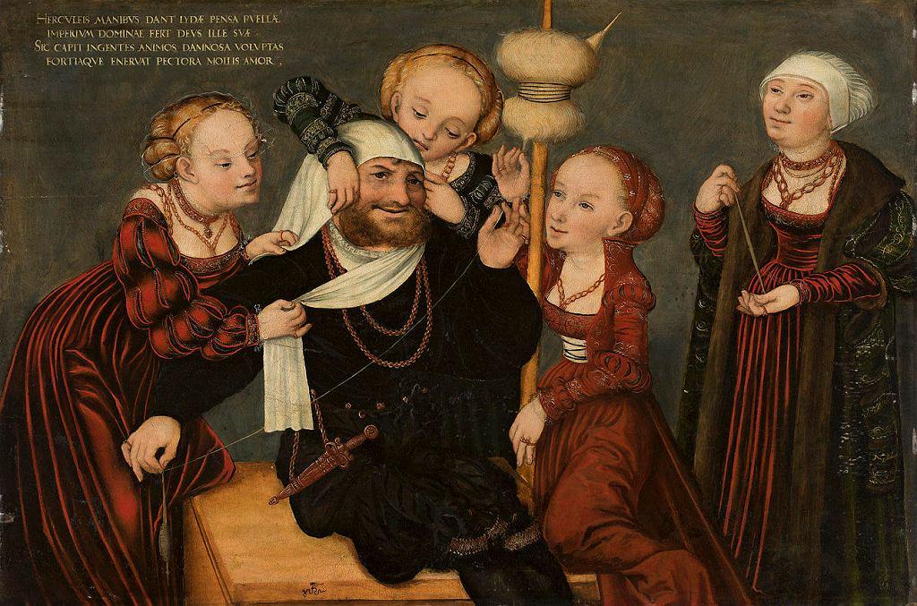 Lucas Cranach, Herkules i Omphale