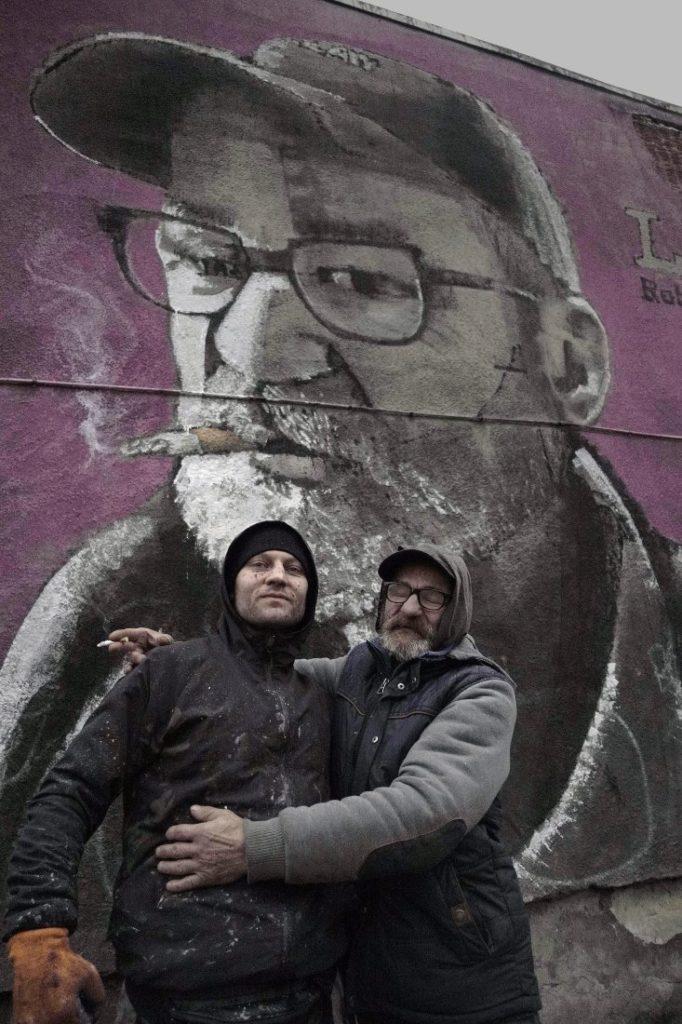 Czajkowskiego - portret, Skont i pan Ryszard, mieszkaniec Czajkowskiego