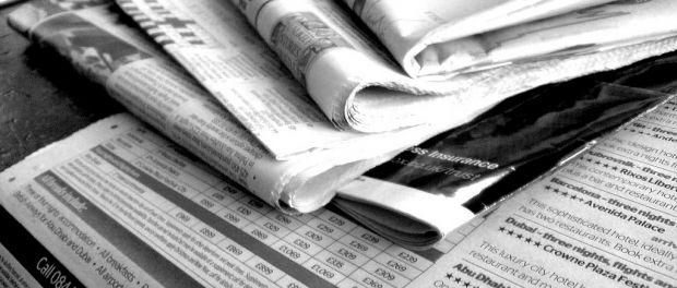 gazeta newspaper do publicystyki