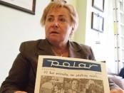 Małgorzata Calińska – Mayer, wieloletnia pracownica Polaru (fot. BOM)